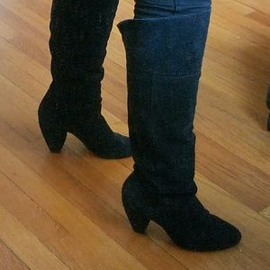 BDG Suede Knee-High Boots