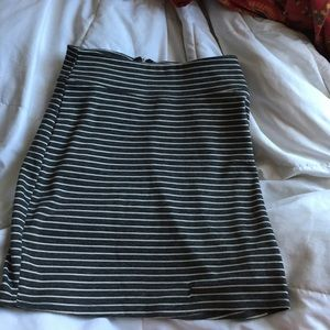 Urban outfitters stripped pencil skirt