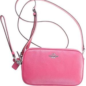 NEW Authentic Coach Crossbody Clutch 65547 Pink