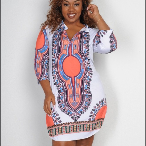 36% off Dresses & Skirts - Plus size African print dresses. from ...