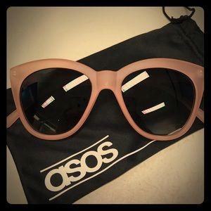 ASOS Pink Cat Eye Sunglasses