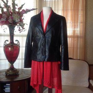 Wilsons Leather Jackets & Blazers - Wilson Maxima black leather jacket