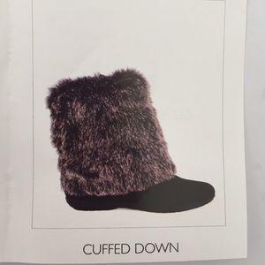 Report Shoes - EUC Report Snow Black Boots