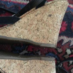 GAP Shoes - Gap black suede black wrap platform sandals
