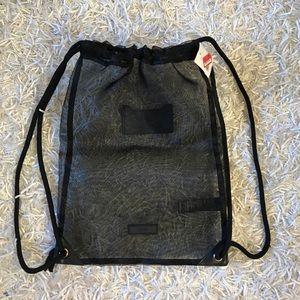 Topshop Mesh Backpack Handbag