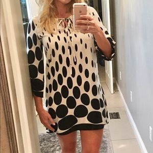 Polka dot boho dress SALE