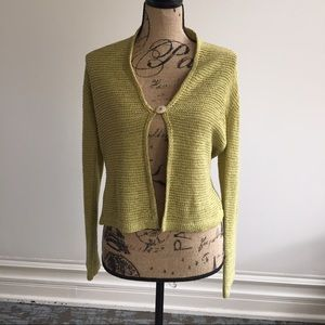 august silk Sweaters - Stunning  one button cardigan, super soft