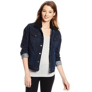 Urban Outfitters Jackets & Blazers - Volcom jean jacket with detachable fur collar, XS