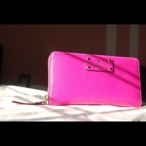 Kate Spade Wellesley Zip Around Wallet