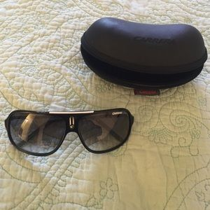 Carrera Accessories - Carrera Black Plastic Aviators - Perfect Condition