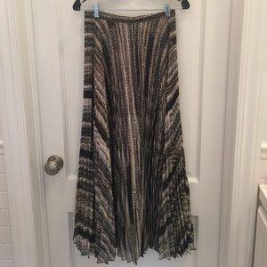 Laundry Maxi length pleated skirt