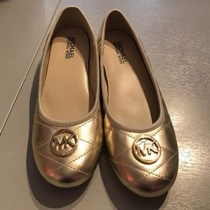 Michael Michael Kors 5 ballet flats Faye gold