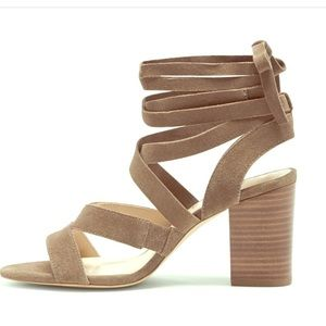 NWOT Sole Society leather lace up sandals