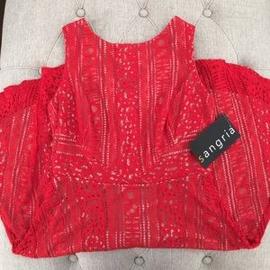 Sangria Dresses & Skirts - 🆕 Sangria Red Dress