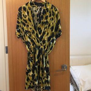 Rachel Rachel Roy Leopard Print Dress