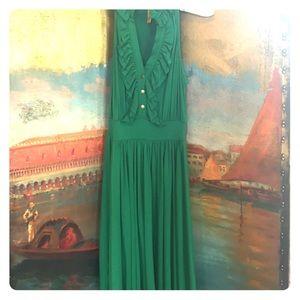 Rachel Pally Dresses & Skirts - Rachel Pally emerald green dress! So flattering!
