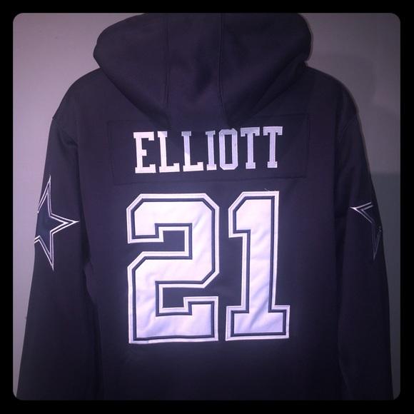 brand new 02f67 d2996 Ezekiel Elliot Dallas Cowboys jersey Hoodie NWT