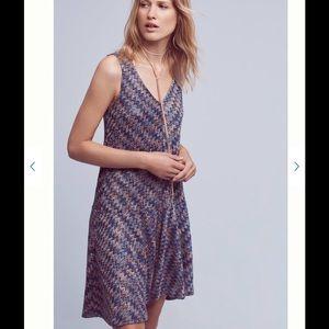 Anthropologie West water Knit dress