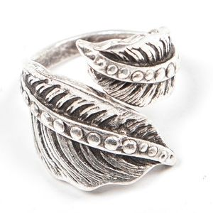 Southern Girl Fashion Jewelry - NATIVE RING Turkish Silver Bohemian Engraved Aztec