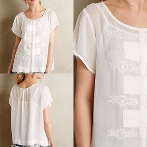 Anthropologie Tops - One Fine Day Haidian Blouse