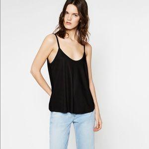 Zara Strappy A-line Top