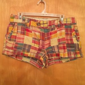 American Eagle Outfitters Pants - AMERICAN EAGLE OUTFITTERS patchwork shorts