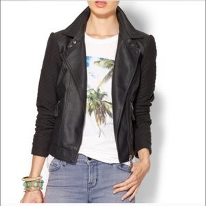 Tinley Road Vegan Leather Jacket