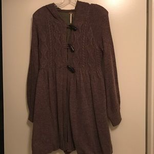 Free People hooded sweater