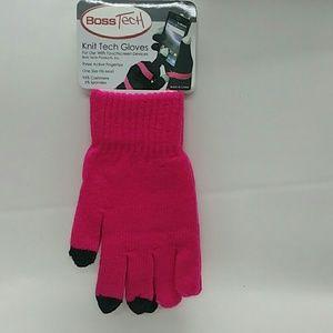 Unisex Knit Gloves w/ Active Fingertips 6169