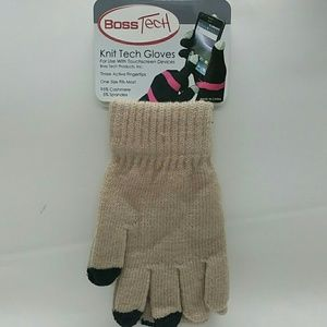 tech boss Accessories - Boss Tech cashmere touch screen winter gloves 6168