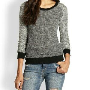 Splendid scoop neck sweater pullover