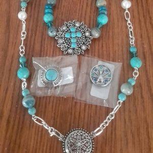 Jewelry - Custom Gingersnap Gemstone bracelet