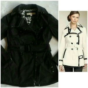 Laundry by Design Jackets & Blazers - Laundry by design black short trench coat S