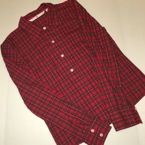 Tommy Hilfiger Other - TOMMY HILFIGER Plaid Print Button Up