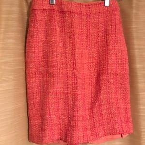 J. Crew tweed pencil skirt