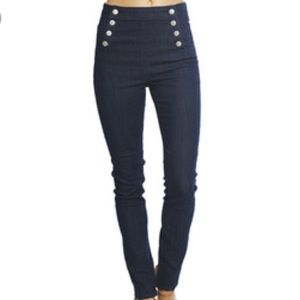UO BDG Nautical High Rise Skinny Jeans