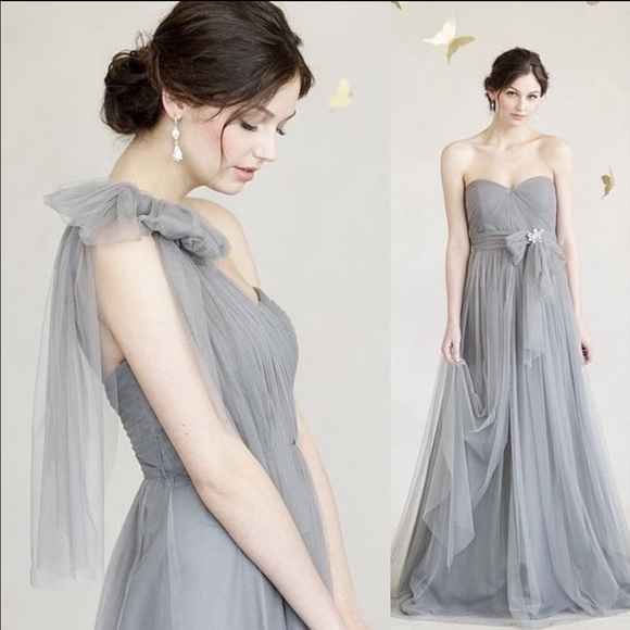 7b43c4d3d3f Jenny Yoo Dresses   Skirts - Jenny Yoo Annabelle Bridesmaid Dress Sterling  grey