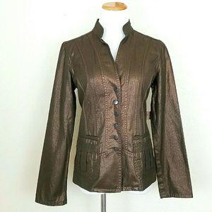 Coldwater Creek Jackets & Blazers - Coldwater Creek Bronze Jacket