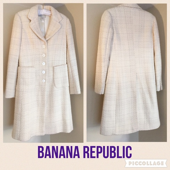 76% off Banana Republic Jackets & Blazers - Banana Republic long ...