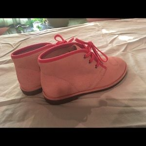 Lands' End Other - LANDS END girls sz 1 leather Joanie chukka boots