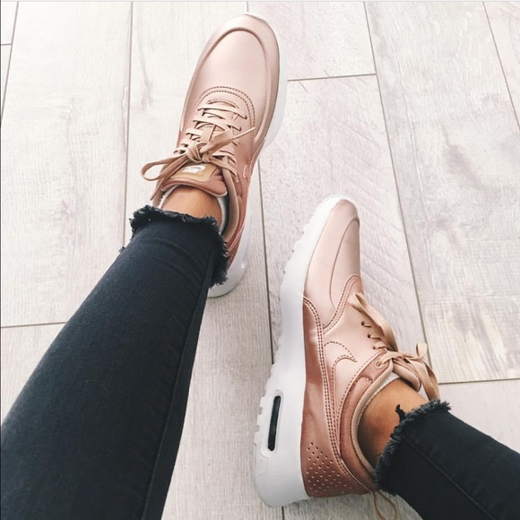 3042474bee8 Women Nike Air Max Thea Rose Gold Metallic Bronze