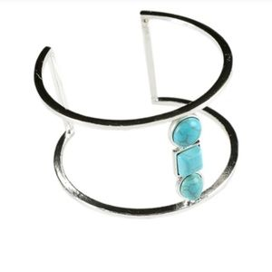 Jewelry closeout! Silver turquoise cuff bracelet