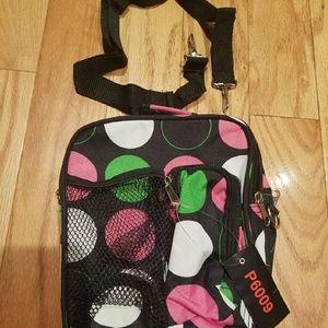 Brand new multi compartment bag