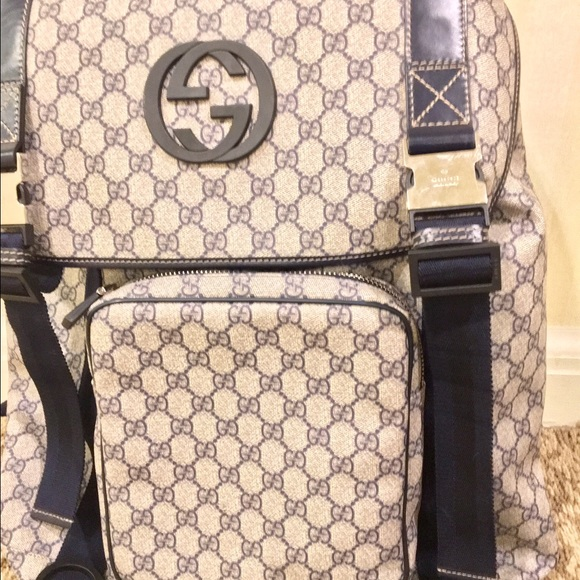 4407fc7f2a9 Vintage Gucci Backpack