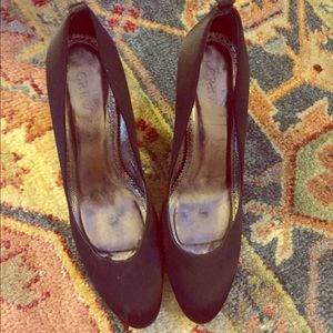 J.Crew Satin pumps