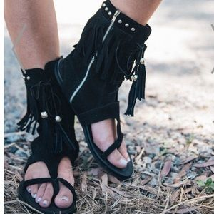 Spell & The Gypsy Collective Shoes - Spell & The Gypsy Warrior Sandals