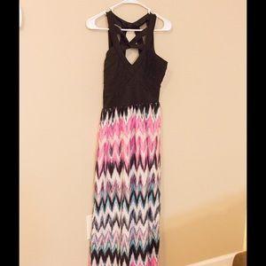 Crystal Doll Dresses & Skirts - Cross strap maxi dress