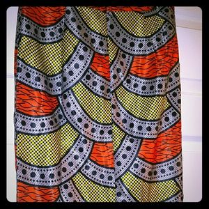 Dresses & Skirts - African inspired fabric pencil skirt