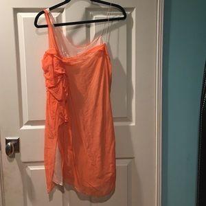 Hanii Y. Silk sheer dress