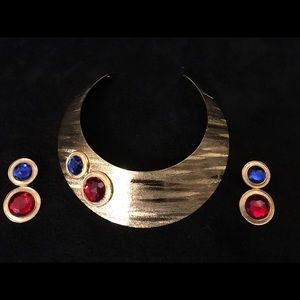 Park Lane Jewelry - Beautiful collar and earring set